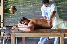 Have an ayurvedic massage when visiting India