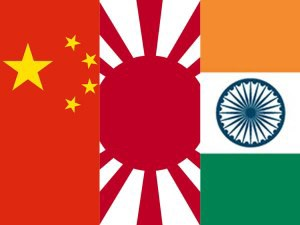 China, Japan and India – the new startup triangle