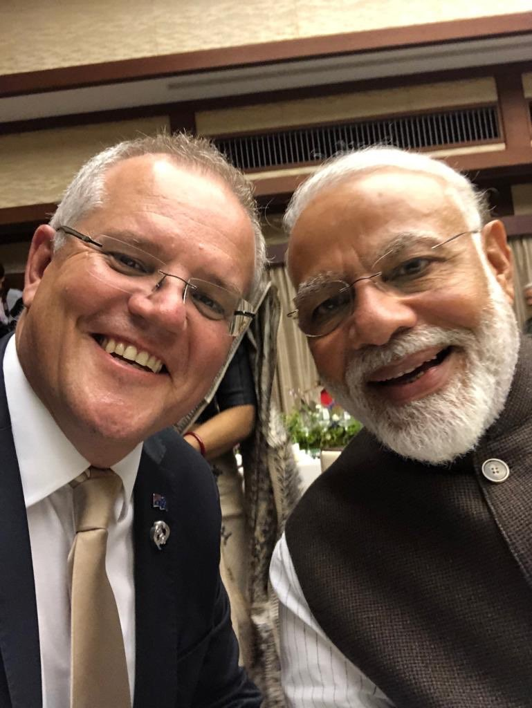 I hope Australian PM Morrison will speak in January at India's Raisina Dialogue