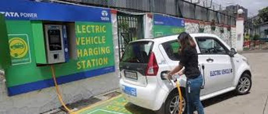 EV's and charging stations boosted in India