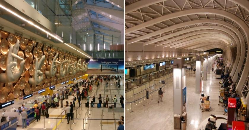 Mumbai-Delhi airports