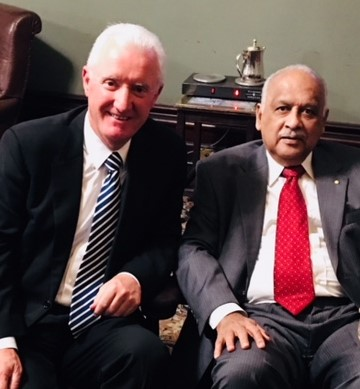 A great Indian Australian continues to give – Dr Rao and family