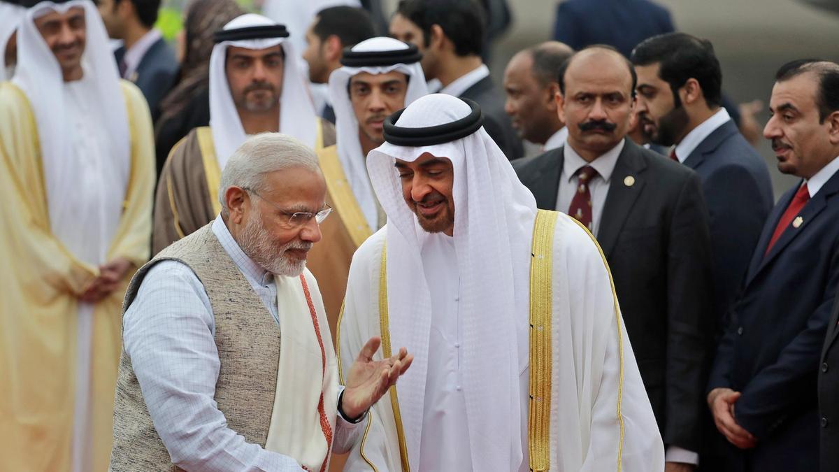Narendra-Modi-Mohammed-bin-Zayed-Al-Nahyan