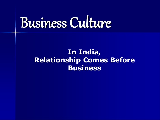 Winning in India – less about sales and more about culture and relationships
