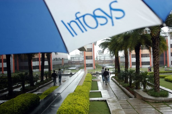 """Infosys now in the """"big four"""" of Indiancompanies"""